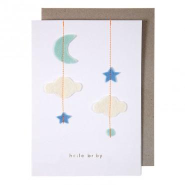 Carte de félicitations - Naissance
