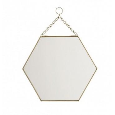 Rack dor madam stoltz perlin paon paon for Miroir hexagonal cuivre