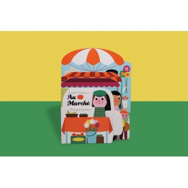 """Petit imagier """"Au marché"""" par Ingela P. Arrhénius"""