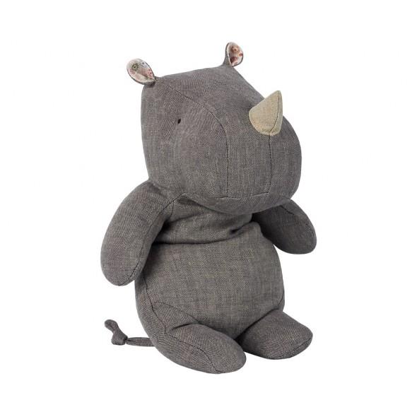 Doudou Rhino - Gris (Medium)