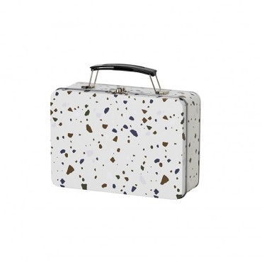Lunch box Terrazzo - Gris