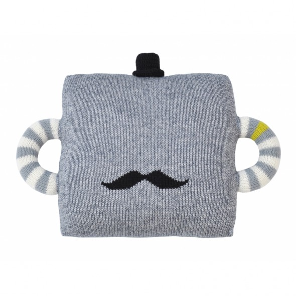 Coussin Hold Me Tight - Moustache