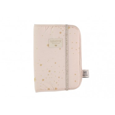 Protège carnet Poema - Gold Stella / Dream pink