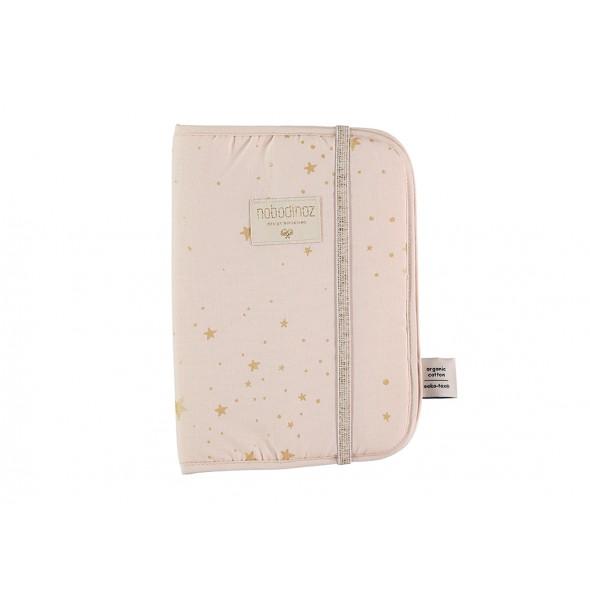 Protège carnet Poema - Gold Stella / Dream pink