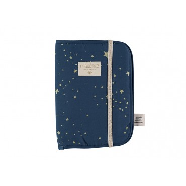 Protège carnet Poema - Gold Stella / Night blue