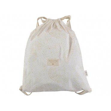 Sac à dos Koala - Gold bubble / White