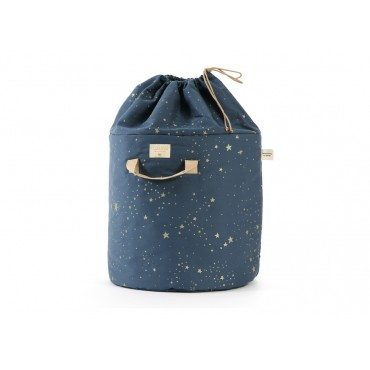 Sac à jouets Bamboo - Gold Stella / Night blue