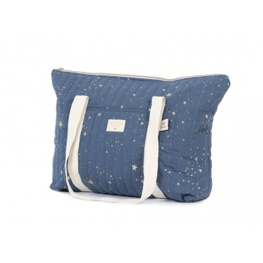 Sac de maternité Paris - Gold stella / Night blue