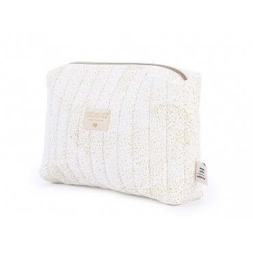 Trousse de toilette Travel - Gold bubble / White