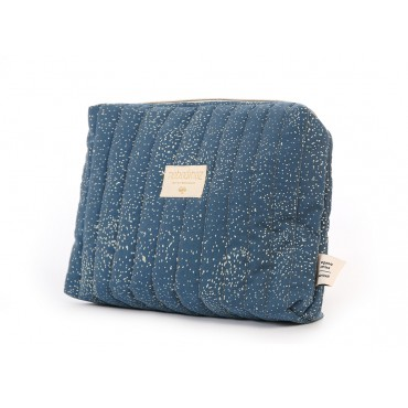 Trousse de toilette Travel - Gold bubble / Night blue