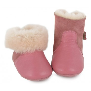 Chaussons Chobotte - Blush