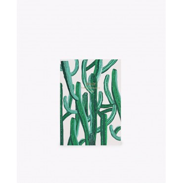 Carnet - Wild cactus (A6)