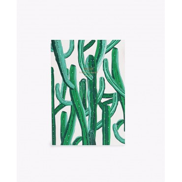 Carnet - Wild cactus (A5)
