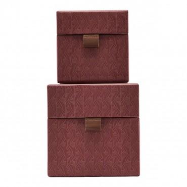Set de 2 boites de rangement carrée - Ray Brown