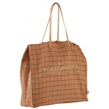 Grand sac shopping RoseBonheur - Litchi (Edition limitée)