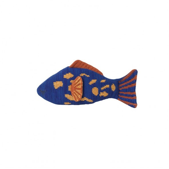 Doudou-coussin Fruiticana - Leopard Fish