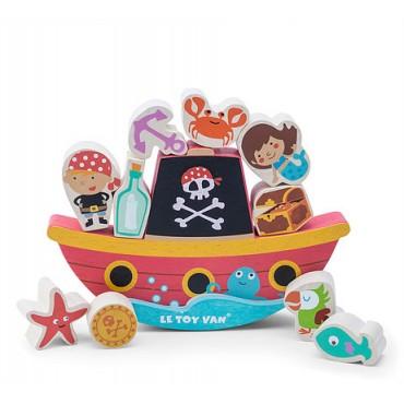Jeu d'éveil et d'équilibre -  Pirates