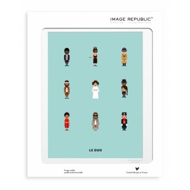 Affiche Le Duo - Ciné culte (New)