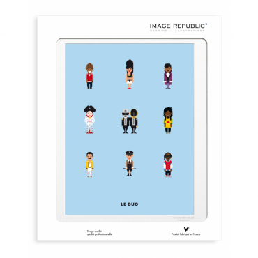 Affiche Le Duo - Musique (New)