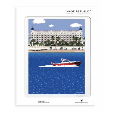 Affiche Paolo Mariotti - Cannes
