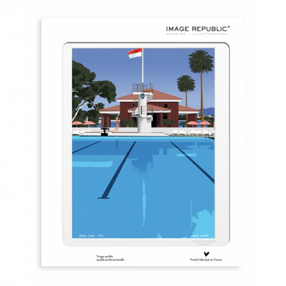 Affiche Paolo Mariotti - Monte-Carlo