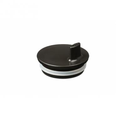 Bec adaptable pour tasse Design letters - Noir