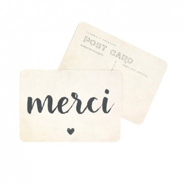 Carte Merci (Jane) - Vintage paper