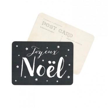 Carte Joyeux Noël (Jane) - Ardoise