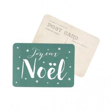 Carte Joyeux Noël (Jane) - Green