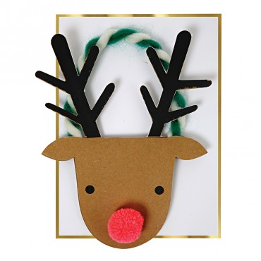 Carte Noël - Renne