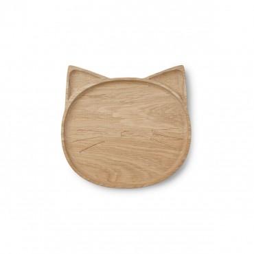 Assiette en bois Conrad - Cat