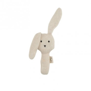 Hochet Rabbit - Crème