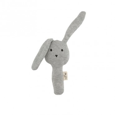 Hochet Rabbit - Gris