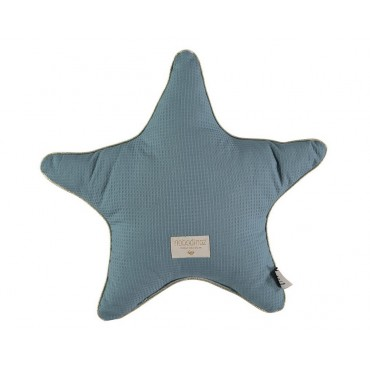 Coussin étoile Aristote - Magic blue