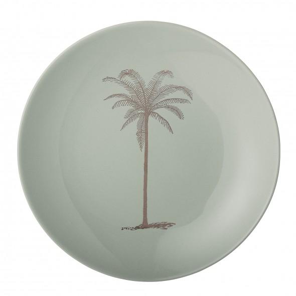 Assiette - Palm (vert pâle)