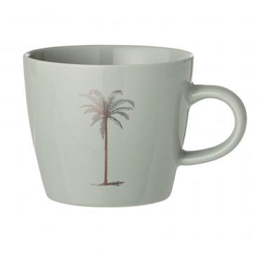 Tasse avec anse  - Palm (vert pâle)