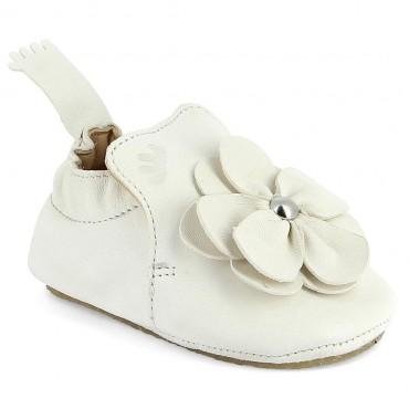 Chaussons Blublu Fleur - Blanc
