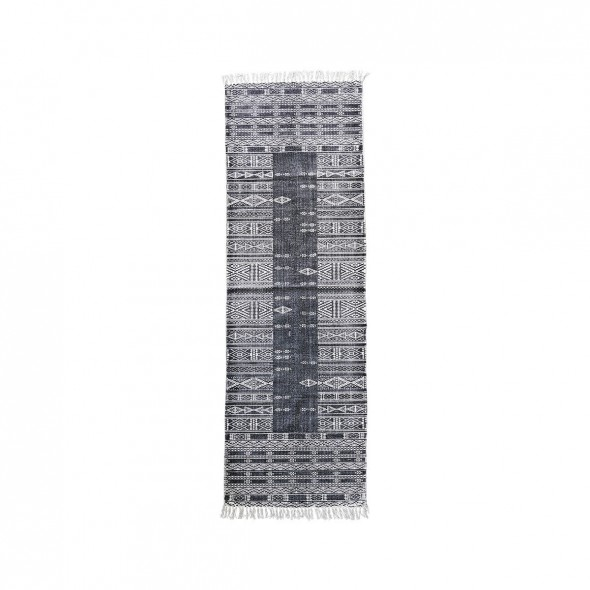 Tapis Julia - Black & White (70x240)