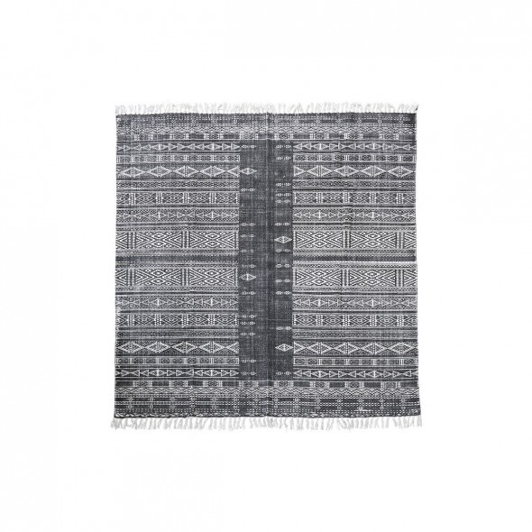 Tapis Julia - Black & White (180x180)