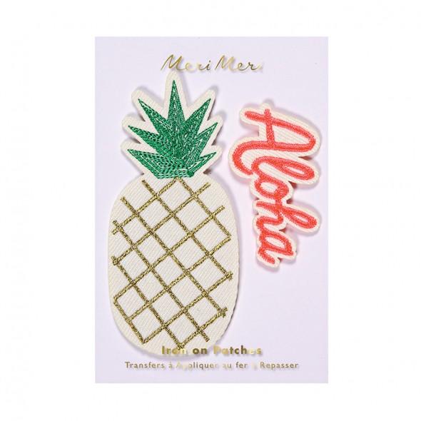 Écusson brodé - Ananas