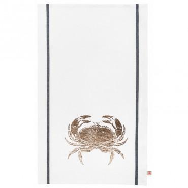 Torchon Crabe - Cuivre