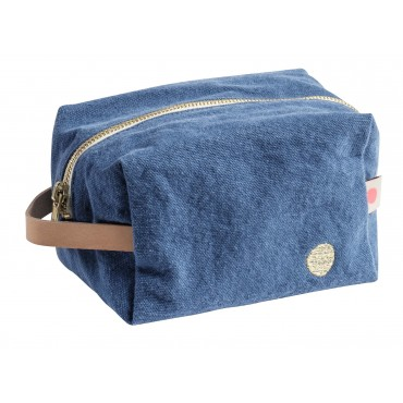 Trousse de toilette cube - Blueberry