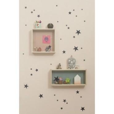 Sticker Mini Stars - Noir