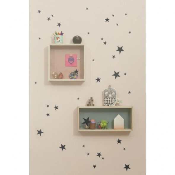 Sticker Mini Stars - Noir