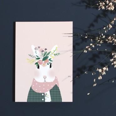 Affiche Joséphine aux Fleurs