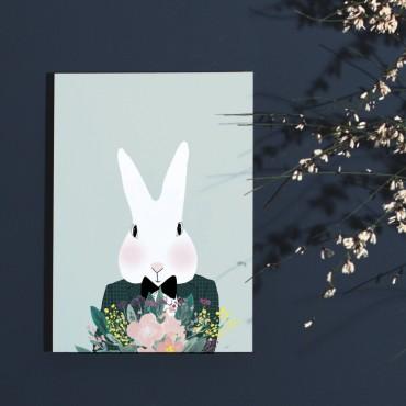 Affiche Camille aux Fleurs