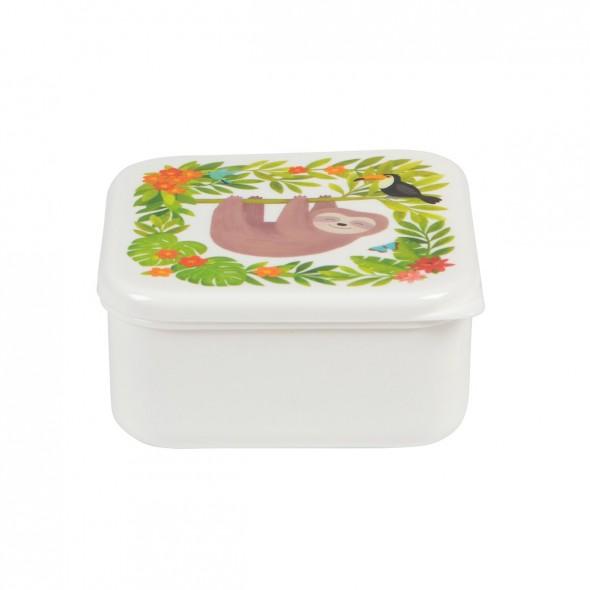 Lunch box carrée - Jungle friends