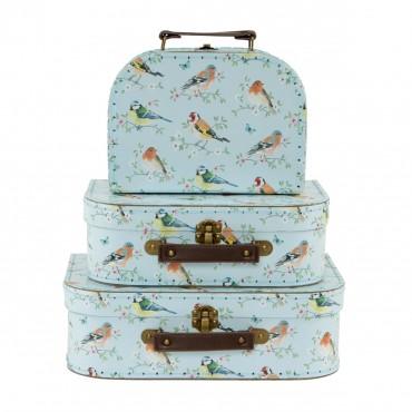 Set de 3 valises - Garden birds