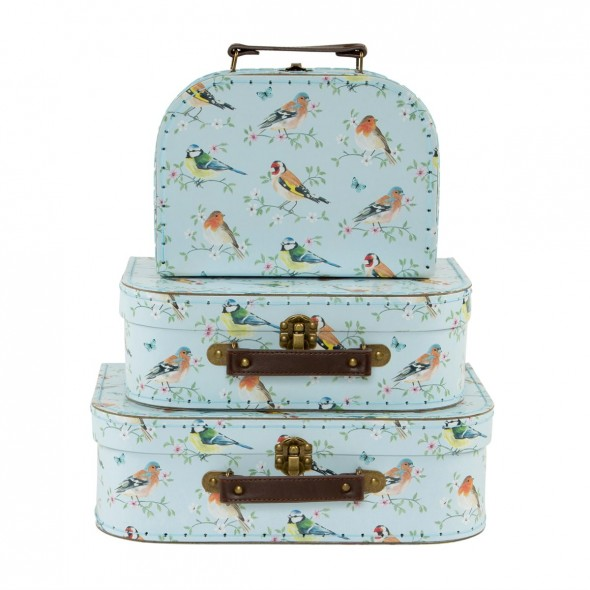 Set de 3 valises - Garden birds