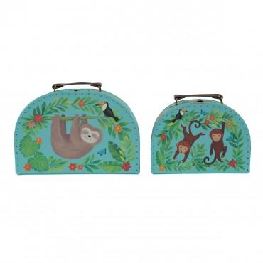 Set de 2 valises - Jungle Friends